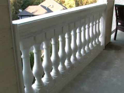 # 6 The Finished concrete railing