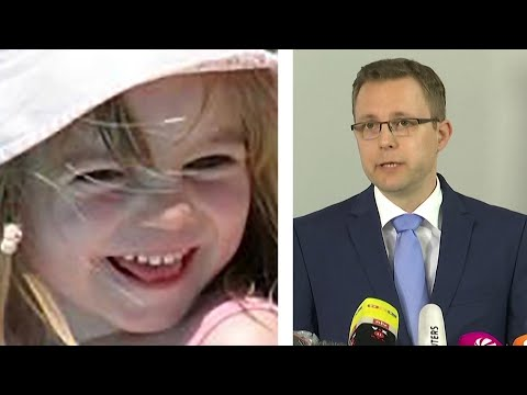 We believe Madeleine McCann is dead says German prosecutor