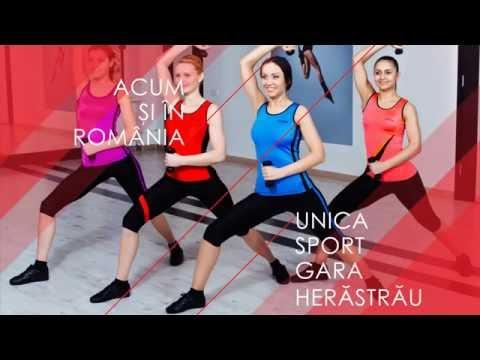 Unica Sport Romania (prezentare sala fitness)