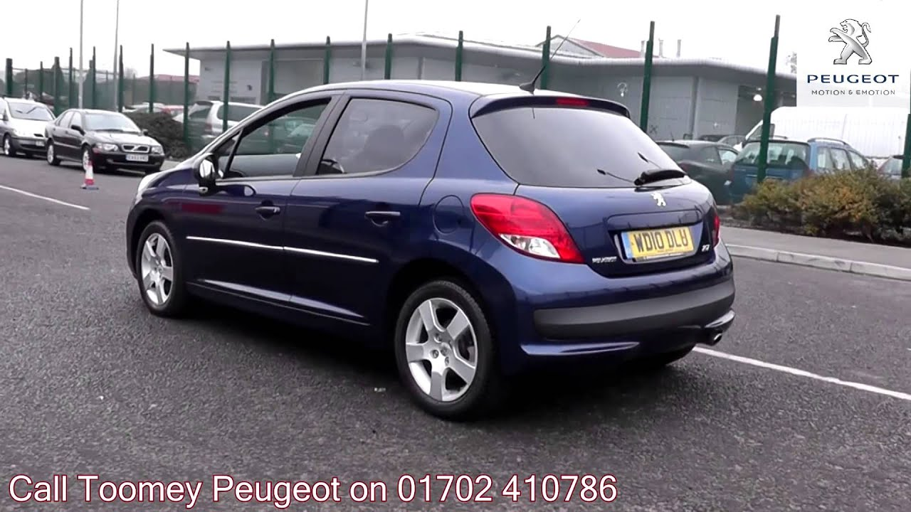 2010 peugeot 207 sport inari blue metallic wd10dlu. Black Bedroom Furniture Sets. Home Design Ideas