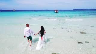 Свадьба в Таиланде съемка с дроном квадрокоптер