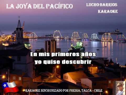LA JOYA DEL PACÍFICO - Lucho Barrios (KARAOKE)