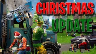 CHRISTMAS UPDATE | 1.11 Patch Notes (Fortnite Battle Royale)