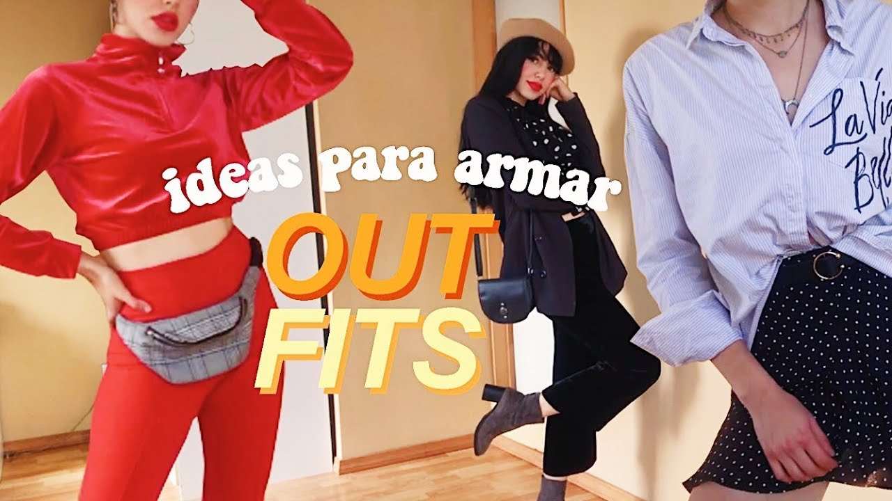 [VIDEO] - Outfits COOL con Ropa de Tianguis | tips para armar tus outfits 1