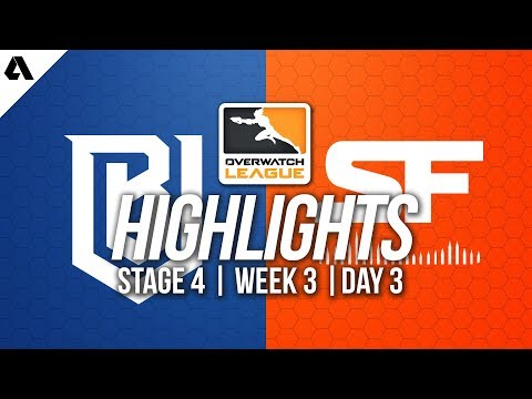 Boston Uprising vs San Francisco Shock | Overwatch League Highlights OWL Stage 4 Week 3 Day 3