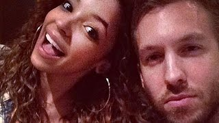 Calvin Harris Goes Public with New Girlfriend Tinashe