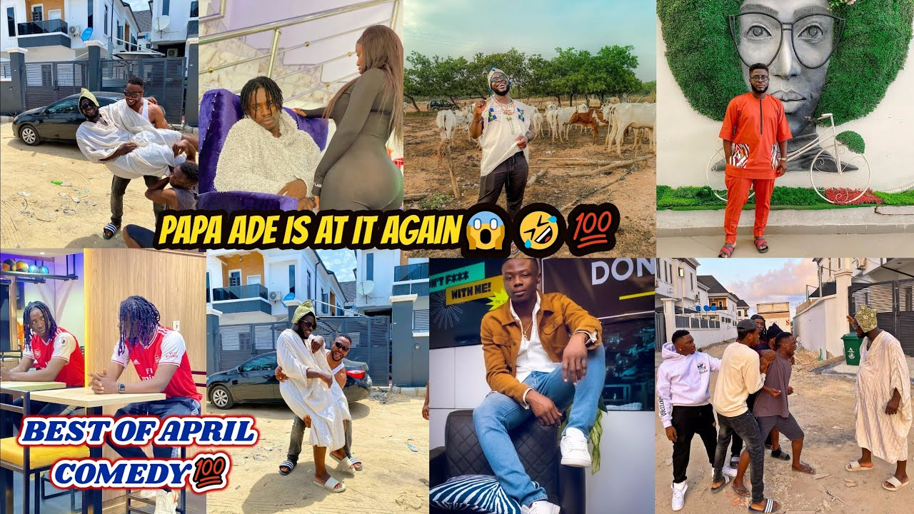 Download Latest best of Crazeclown - Papa Ade and Ade FT LordLamba Comedy skit💯🔥 - 2021 COMPILATION VIDEO