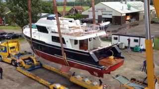 Privateer Trawler 54 - Launching