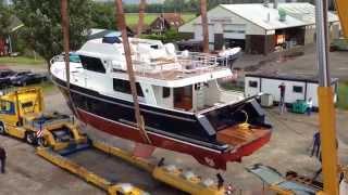 Privateer Trawler 54 - Launching
