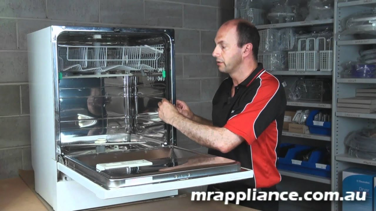 Dishwasher Door Seal Part Replacement - YouTube