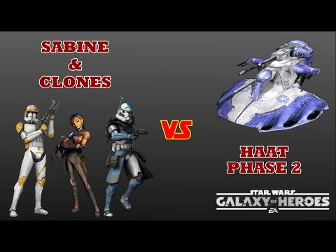 Attempting to use Sabine and Clones in Phase 2