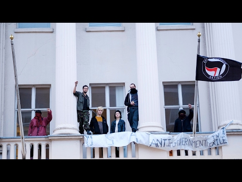 inside ANAL Anarchist £15 Million Occupied London Mansion w/t David Graeber
