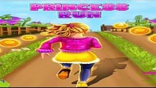 Royal Princess Island Run : Endless Running Game screenshot 1
