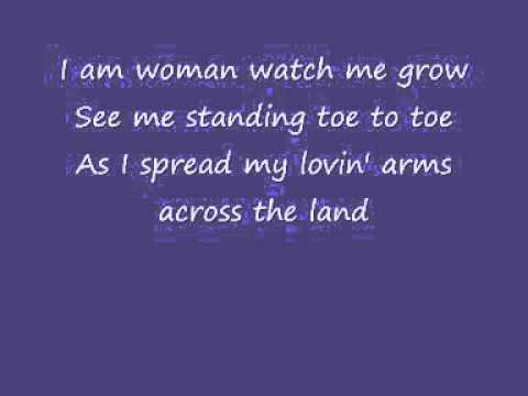 Helen Reddy - I Am Woman (Lyrics)
