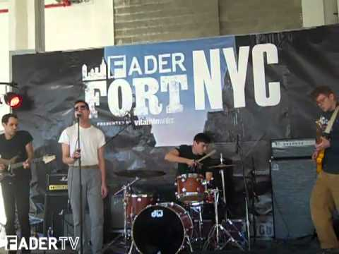 Pablo Picasso Live at the FADER FORT NYC