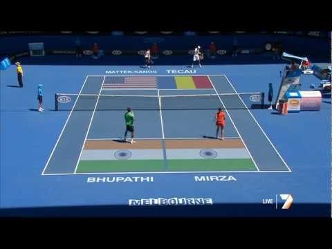 Sania Mirza  Mixed Doubles - Semifinals 1/2 27/1/2012