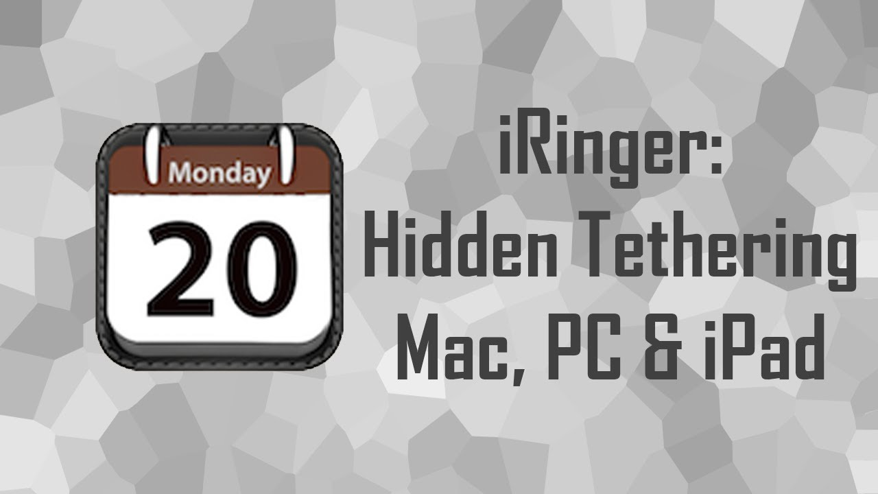 iRinger- FREE Tethering on iPhone iOS 6, iOS 7 & iOS 8 NO JAILBREAK