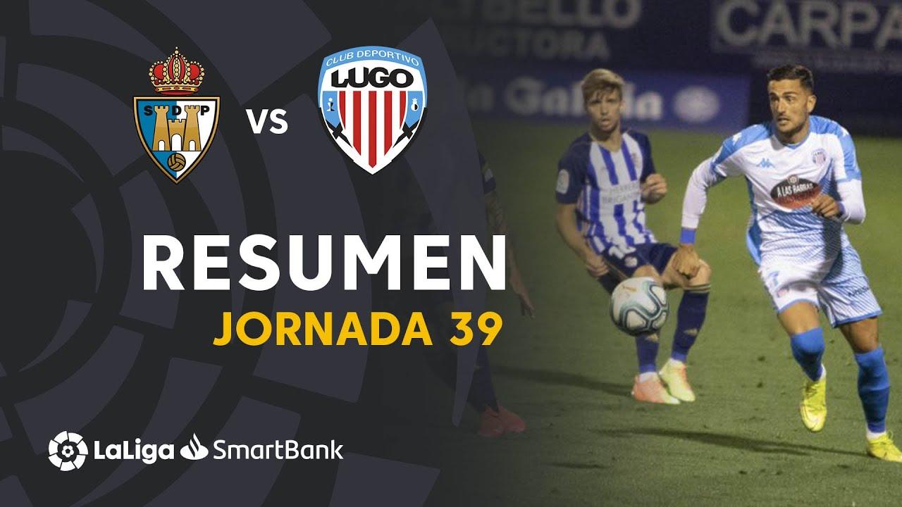 Resumen de SD Ponferradina vs CD Lugo (0-1)
