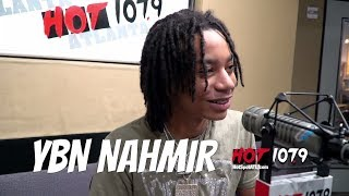 YBN Nahmir Of How He Recorded Rubbin Of The Paint On a Snow Microphone At His House.