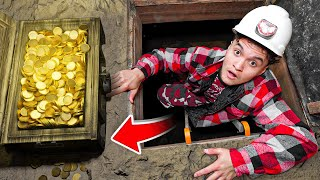 I Found Treasure in Haunted Mine at Abandoned Ghost Town