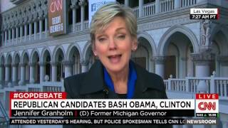 CNN grills Hillary Clinton flack Jennifer Granholm over Hillary not anticipating ISIS