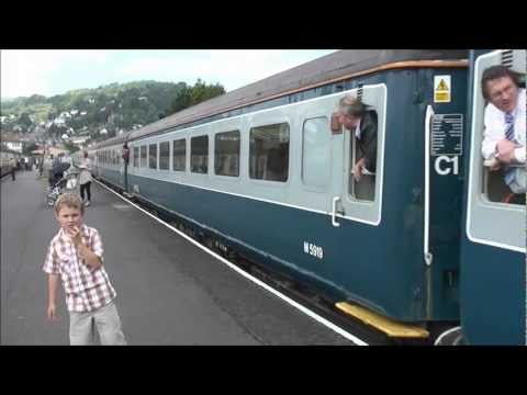 GOING TO MINEHEAD WSR TO SEE THE RAIL BLUE CHARTER SPECIAL, 9 JULY 2011
