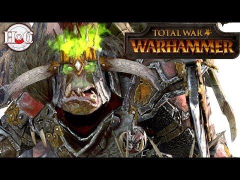 Greenskins vs Norsca - Total War Warhammer Online 378 |