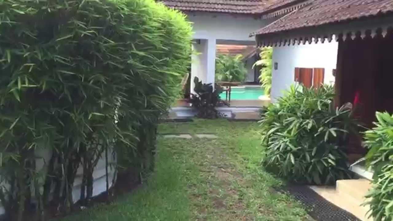 Meandering Pool Villas Kumarakom Lake Resort Kottayam Kerala India Youtube