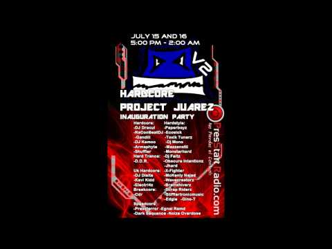 Obscure Intentionz' radio show @ Hardcore Project Juarez presents: Paperboyz Birthday