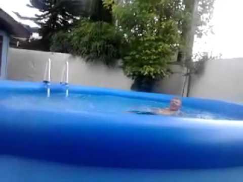 Piscina de 15000 lts intex youtube for Piscina 8000 litros