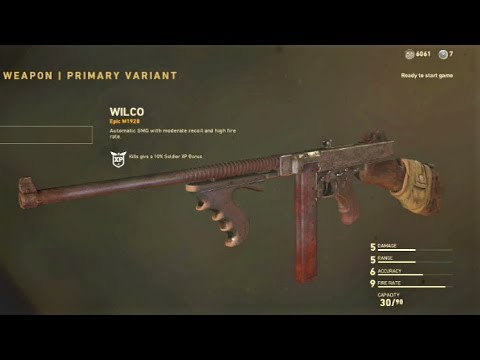 COD WW2: How To Get Free Epic Weapon Variants Easy (EPIC M1928 WILCO)