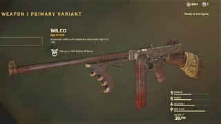 So yes they give you an epic Tommy Gun at rank six but I have not r...