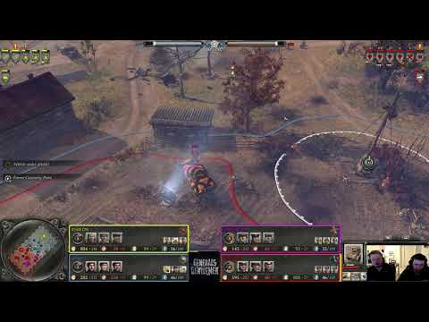 [Company Of Heroes 2 Team Battle] CN,Doggy Vs HelpingHans, Crossfire