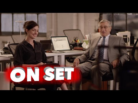 The Intern: Behind the Scenes Movie Broll - Robert De Niro, Anne Hathaway