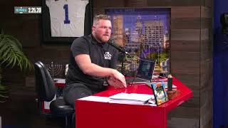 The Pat McAfee Show live stream on Youtube.com