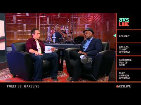 Booker T Interview on AXS Live