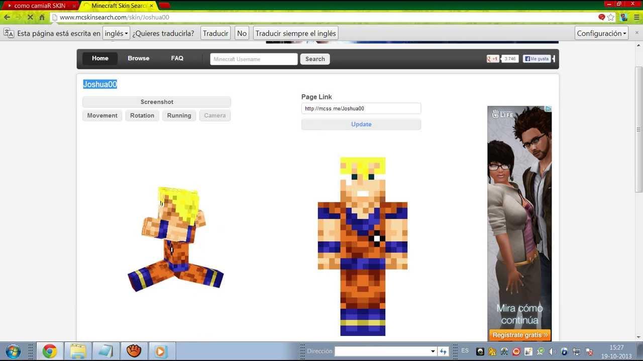 Como Cambiar El Skin Al Minecraft Sin Descargar Nada - Nombres de skins para minecraft 1 8 premium