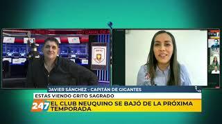 02/10/20 | GS | GIGANTES SE BAJÓ DE LA PRÓXIMA TEMPORADA | SÁNCHEZ