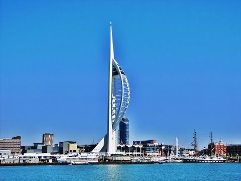 My Trip Up The Spinnaker Tower - Portsmouth