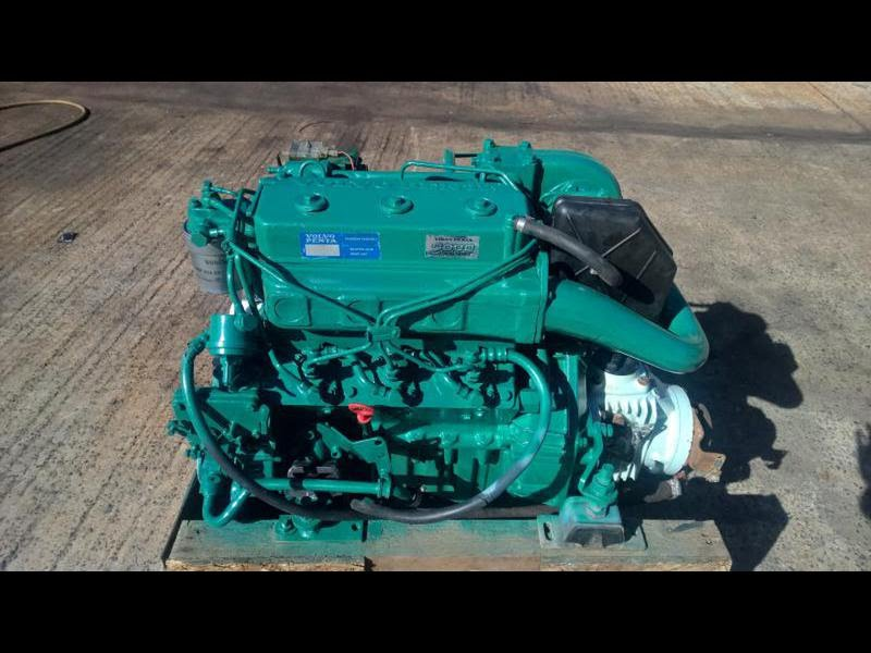 For Sale Volvo Penta T 43hp Marinesel Engine