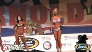 Repeat youtube video 2011 Arnold Classic Bikini Amateur Top 5 Awards and Overall