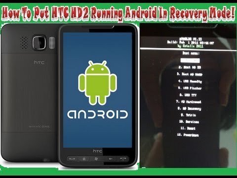 How To Flash HTC HD2 Leo T8585 With Official Firmware - YouTube