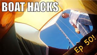 Boat Hacks: Simple Liveaboard and Cruising Strategies! | Sailing Wisdom Ep 50