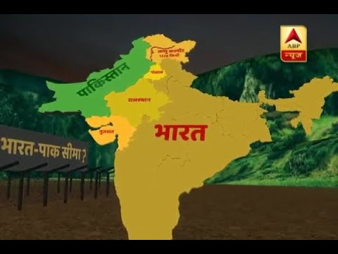 Map Of India And Pakistan Border.New Map Of India And Pakistan In 2012 A Must See Video The Truth