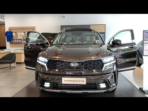 New Kia Sorento 2.2 Diesel - Brown Color - The most equipped version.