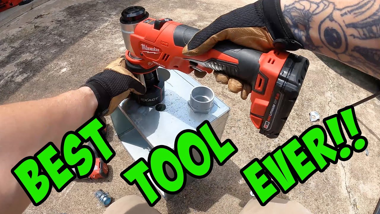 3 Types of Knockout Sets Electricians Use - Electrician Tool Review