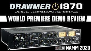 Best Affordable Stereo Preamp and Compressor Drawmer 1970