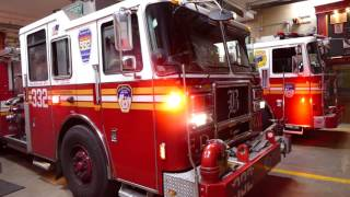 FDNY Engine 332 responds to Box 1797