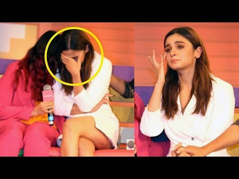 Alia Bhatt BREAKS DOWN While Talking About Sister Shaheen Bhatt's Depression At A Book Launch Mp3