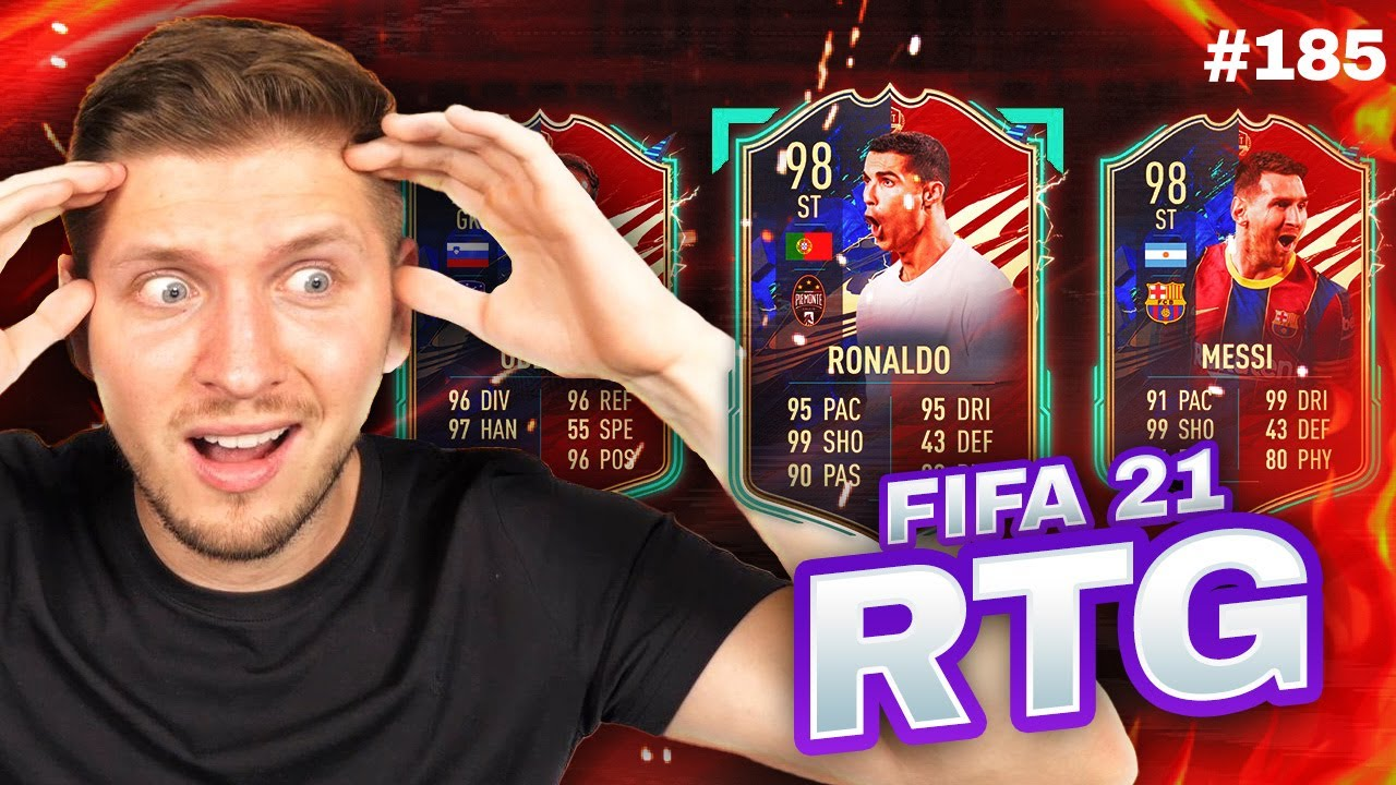 I GOT MY BEST PULL EVER IN ULTIMATE TOTS!! FIFA 21 ULTIMATE TEAM